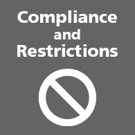 Compliance and Restrictions link image